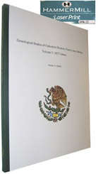 Eagleknight.com Genealogy books for sale:               1827 Cadereyta Jimenez Census Library Edition
